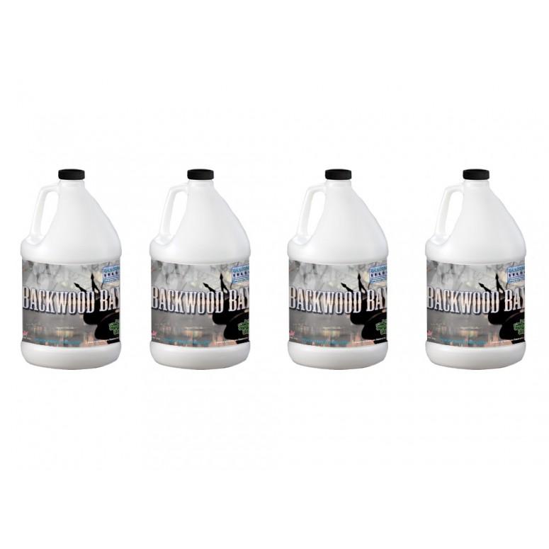 Backwood Bay® - Extremely Long Lasting Fog Juice Machine Fluid - 4 Gallon Case