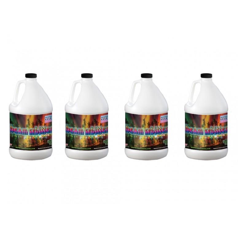 Beam Splitter - Professional Water Based Haze Juice - Premium Haze Machine Fluid - 4 Gallon Case