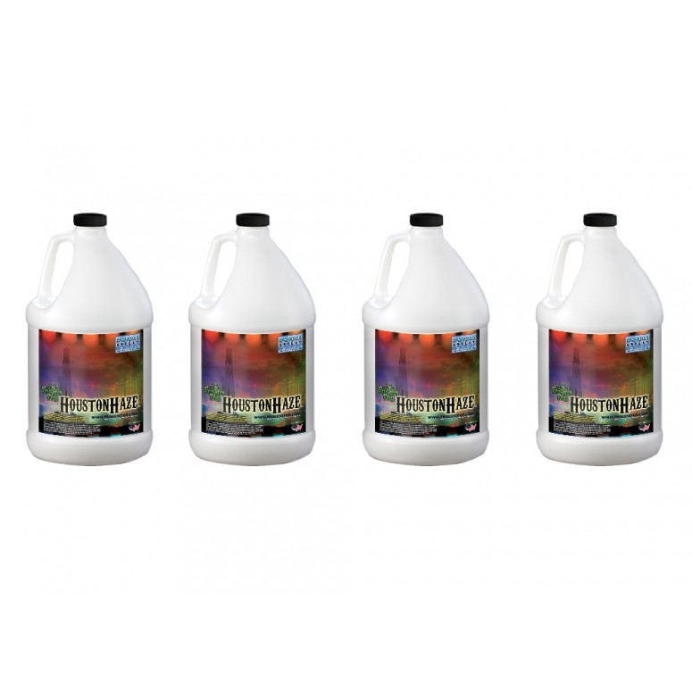 Houston Haze - Oil Based Juice Fluid for Haze Generators - 4 Gallon Case