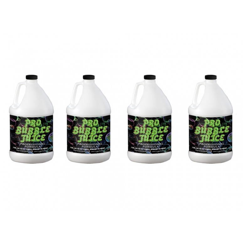 PRO Bubble Juice - Short Distance Applications - 4 Gallon Case