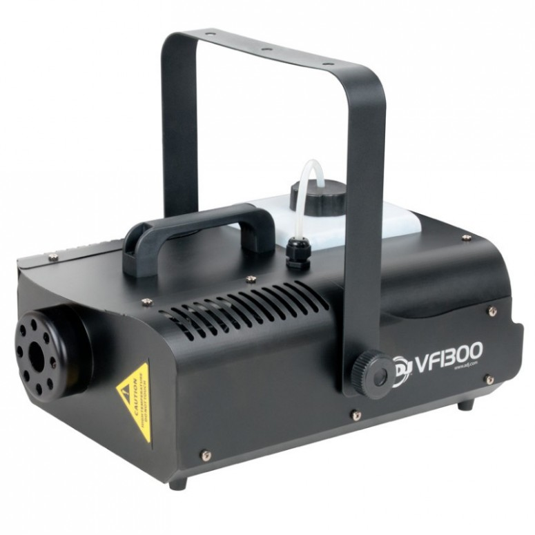 1300 Watt Fog Machine - Wireless and Manual Remote, 7 Minute Heat Up, 12,000 CFM - Front
