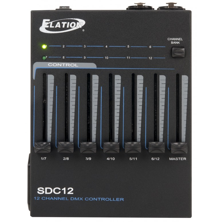 Antari SDC-12  - 12 Channel DMX Controller with DMX Power Trigger - Front
