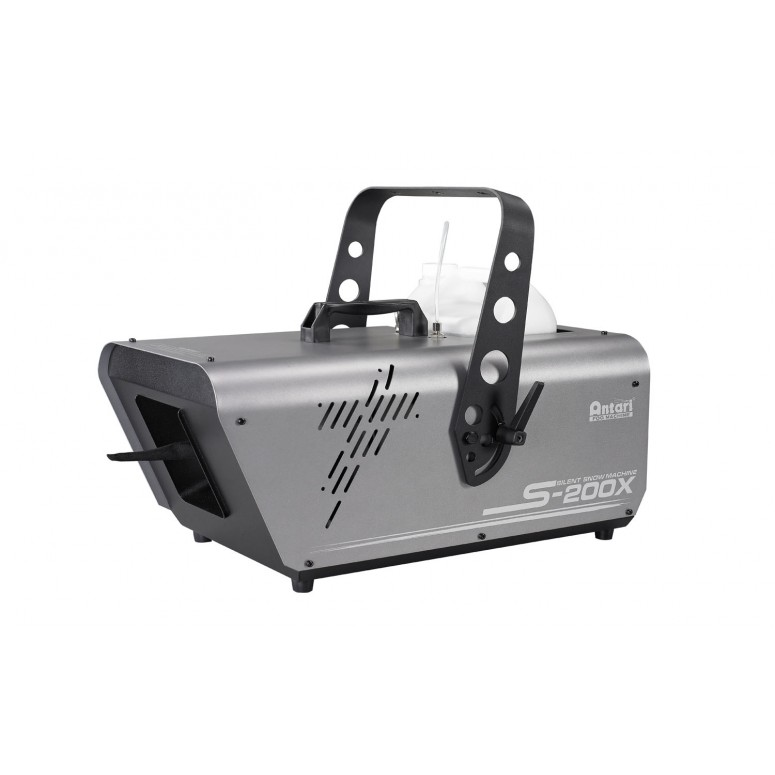 (Backordered, Ships 2/20/20) Antari S-200X - SILENT High Output Snow Machine - Digital & DMX Controls + SC-2 Manual Remote