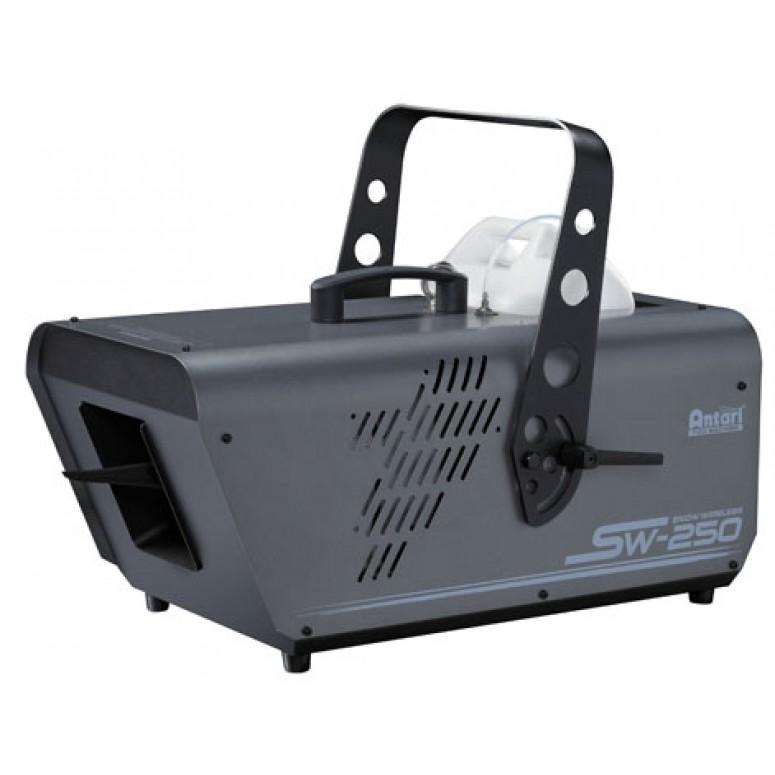 Rental - Antari SW-250 - SILENT High Output Snow Machine - Digital & DMX Controls