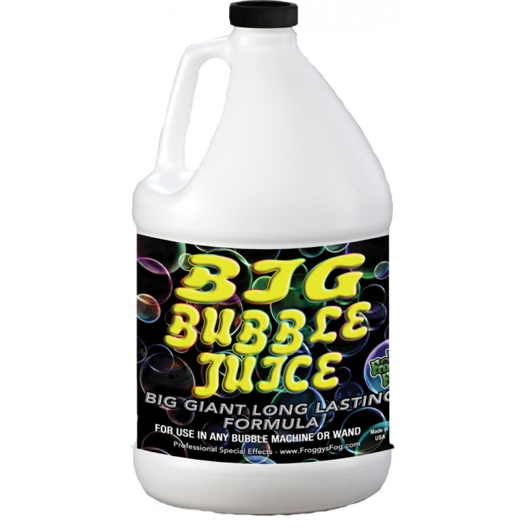 BIG Bubble Juice - Enormous Long-Lasting Bubble Fluid - 1 Gallon