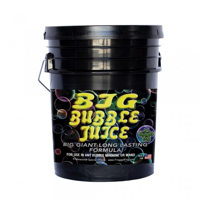 BIG Bubble Juice - Enormous Long-Lasting Bubble Fluid - 5 Gallon Pail