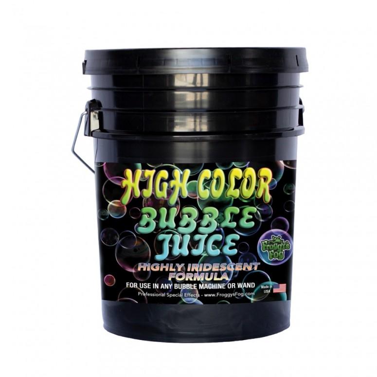 HIGH COLOR Bubble Juice - Strong Long-Lasting Iridescent Brilliant - 5 Gallon Pail