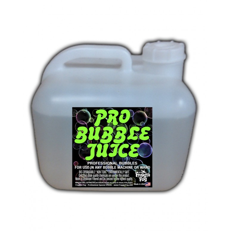 HIGH COLOR Bubble Juice - Strong Long-Lasting Iridescent Brilliant - 2.5 Gallon Square