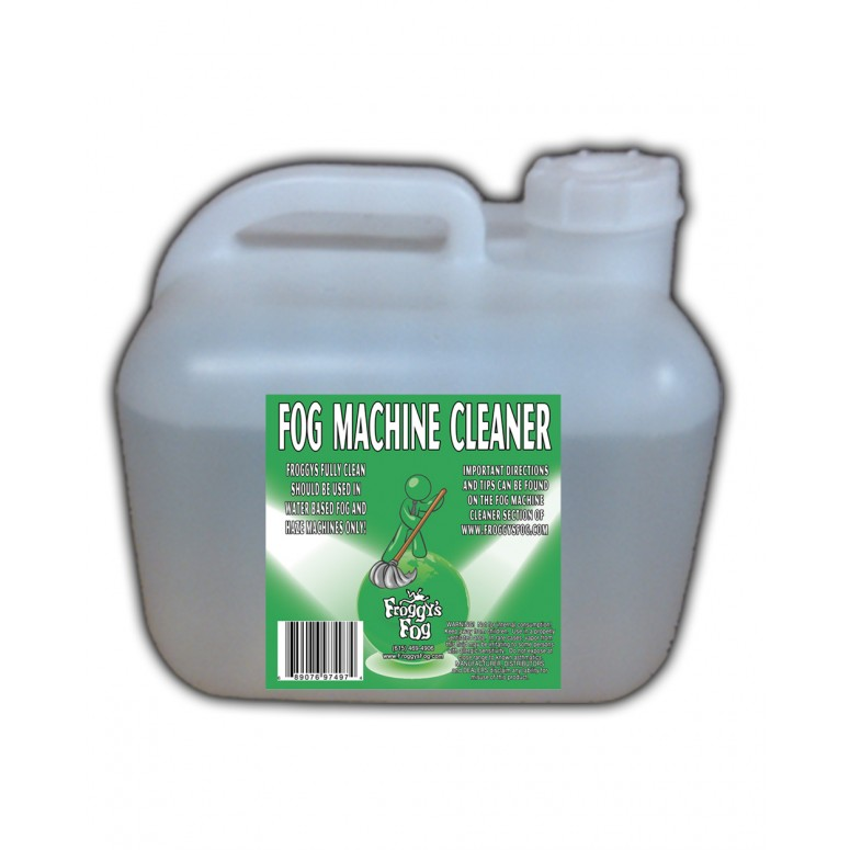 Fog Machine Cleaner - Froggys Fully Clean - 2.5 Gallons