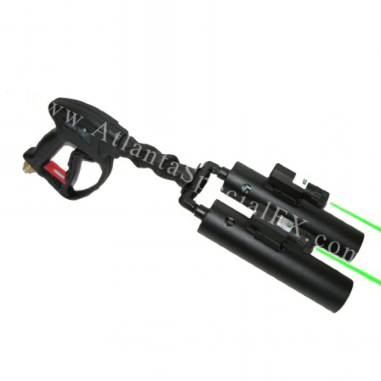 Dual Laser Nozzle Handheld CO2 Cryo Gun Package with 4 FT Hose - America's Most Trusted Cryo Jet