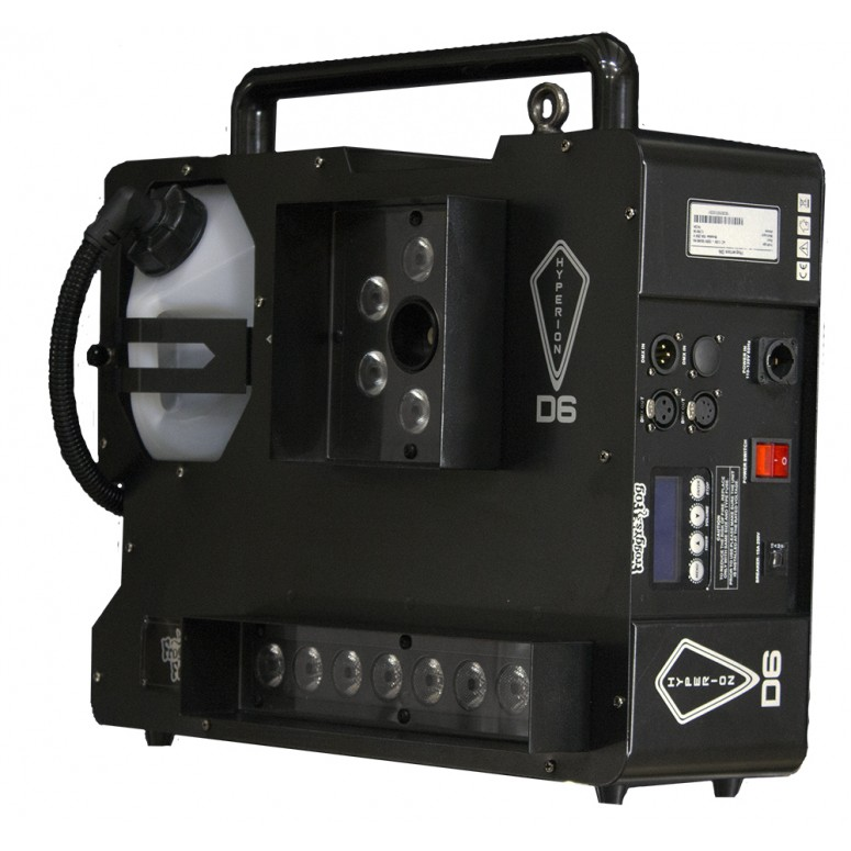 Hyperion D6 ‐ Dual Color ‐ 1500 Watts, 2 Color Smoke