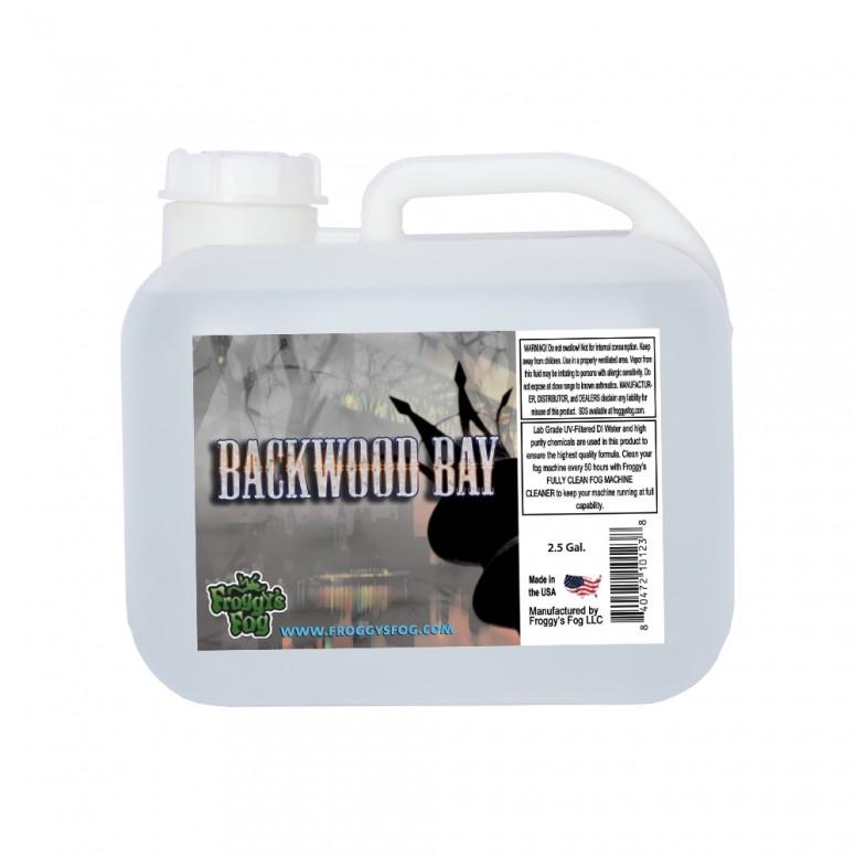 Backwood Bay® - Extremely Long Lasting Fog Juice Machine Fluid - 2.5 Gallon Square