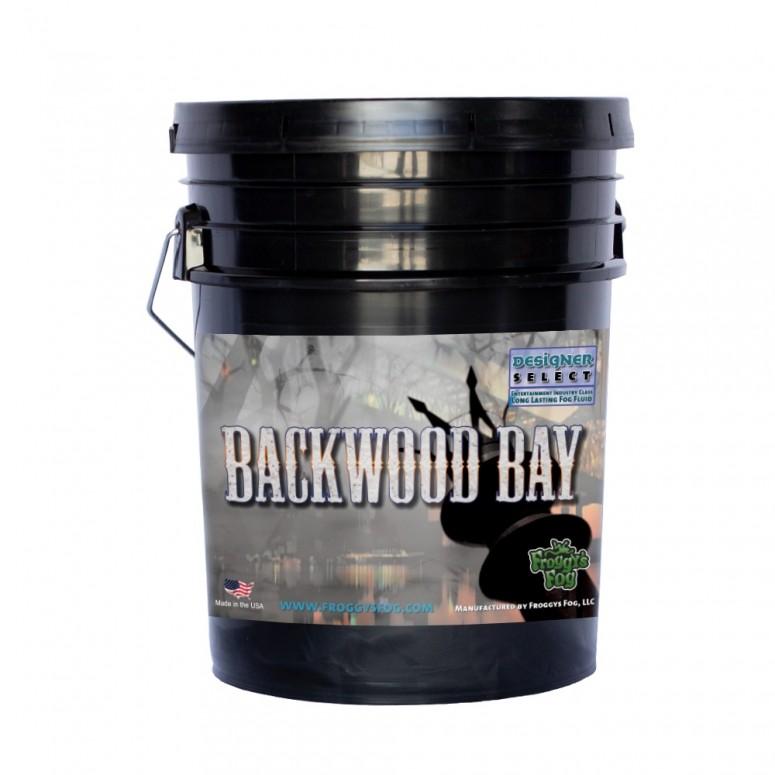 Backwood Bay® - Extremely Long Lasting Fog Juice Machine Fluid - 5 Gallon Pail
