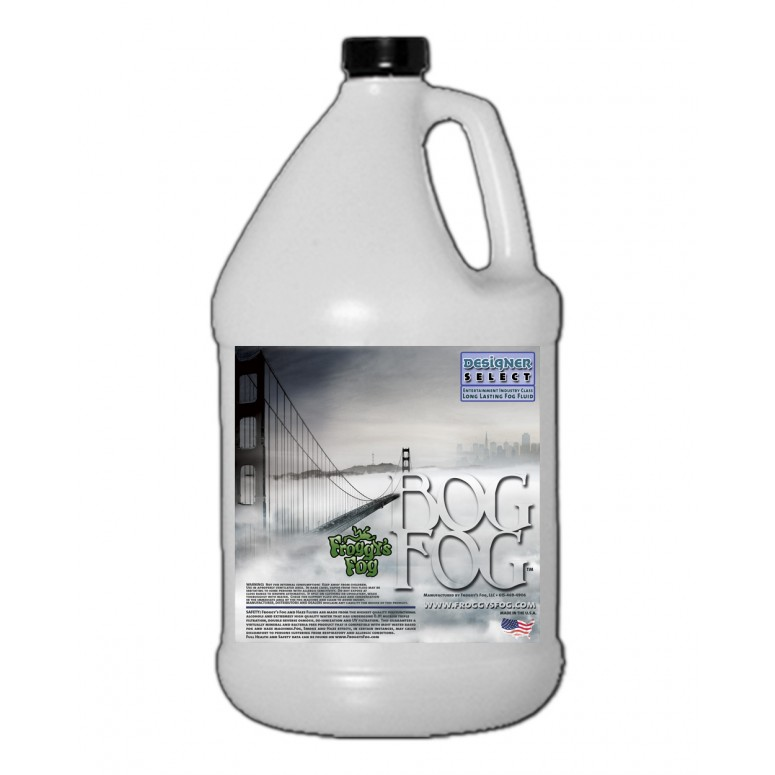 Bog Fog - Extreme High Density Fog Juice - HDF Fog Machine Fluid - 1 Gallon