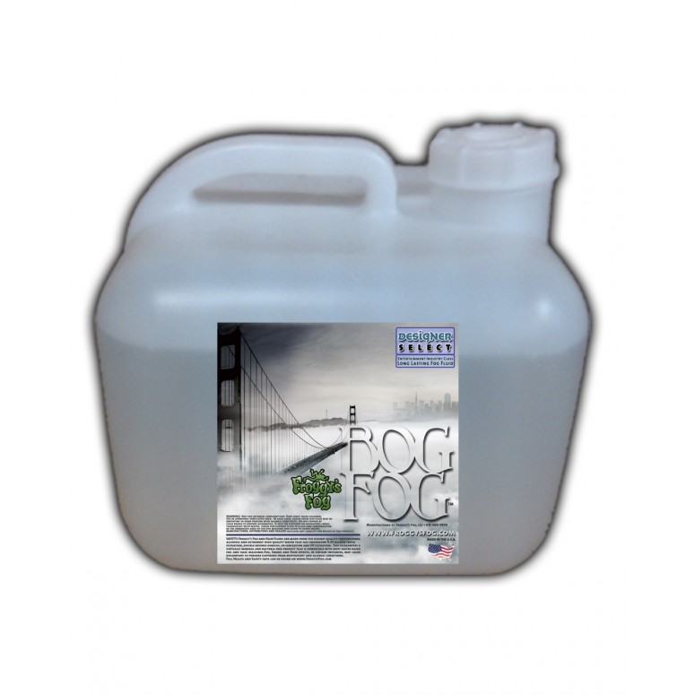 Bog Fog - Extreme High Density Fog Juice - HDF Fog Machine Fluid - 2.5 Gallon