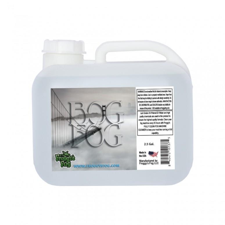 Bog Fog® - Extreme High Density Fog Juice - HDF Fog Machine Fluid - 2.5 Gallon Square