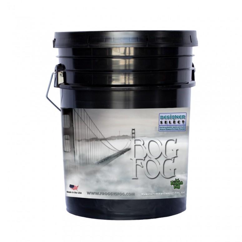 Bog Fog® - Extreme High Density Fog Juice - HDF Fog Machine Fluid - 5 Gallon Pail
