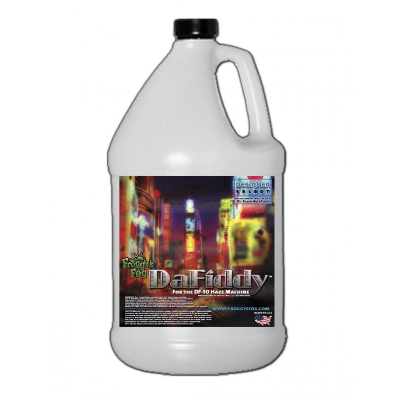 DaFiddy - Oil-less Haze Juice Fluid for DF-50 Machine - 1 Gallon