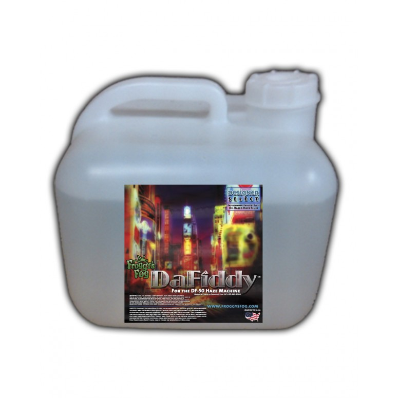DaFiddy - Oil-less Haze Juice Fluid for DF-50 Machine - 2.5 Gallon Square