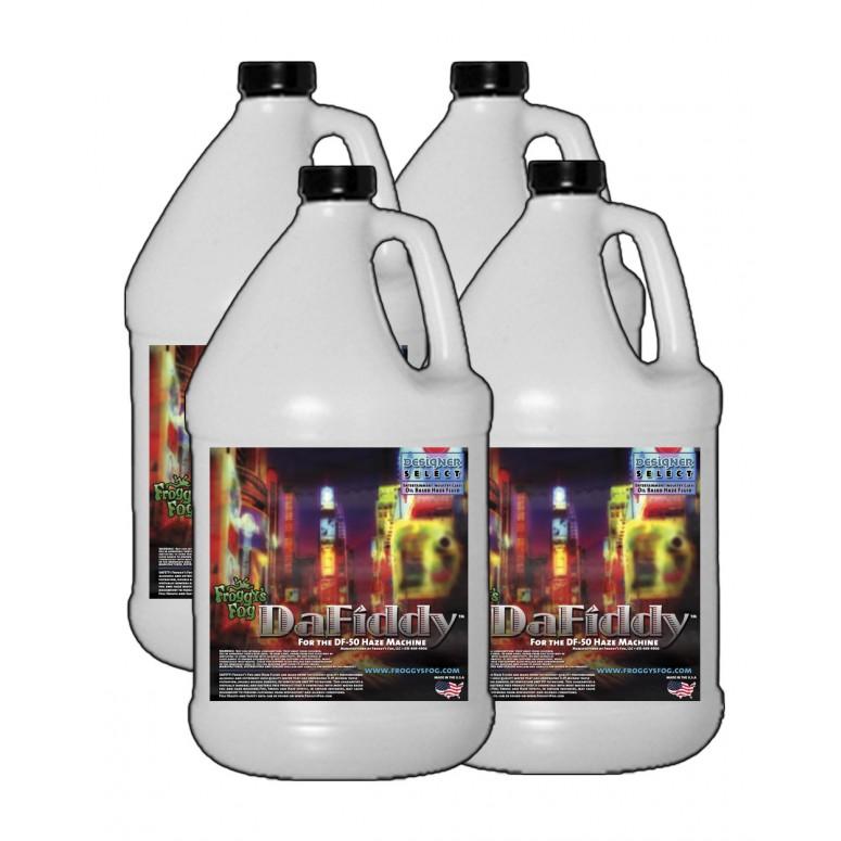 DaFiddy - Oil-less Haze Juice Fluid for DF-50 Machine - 4 Gallon Case