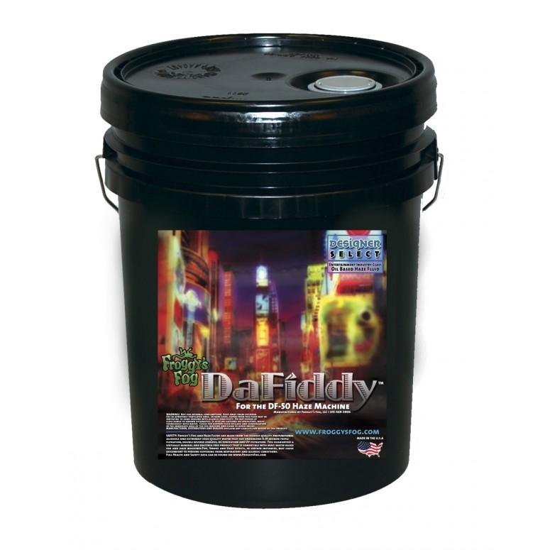 DaFiddy - Oil-less Haze Juice Fluid for DF-50 Machine - 5 Gallon Pail