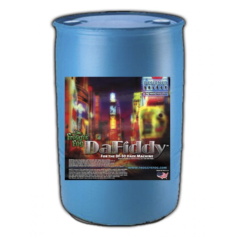 DaFiddy - Oil-less Haze Juice Fluid for DF-50 Machine - 55 Gallon Drum