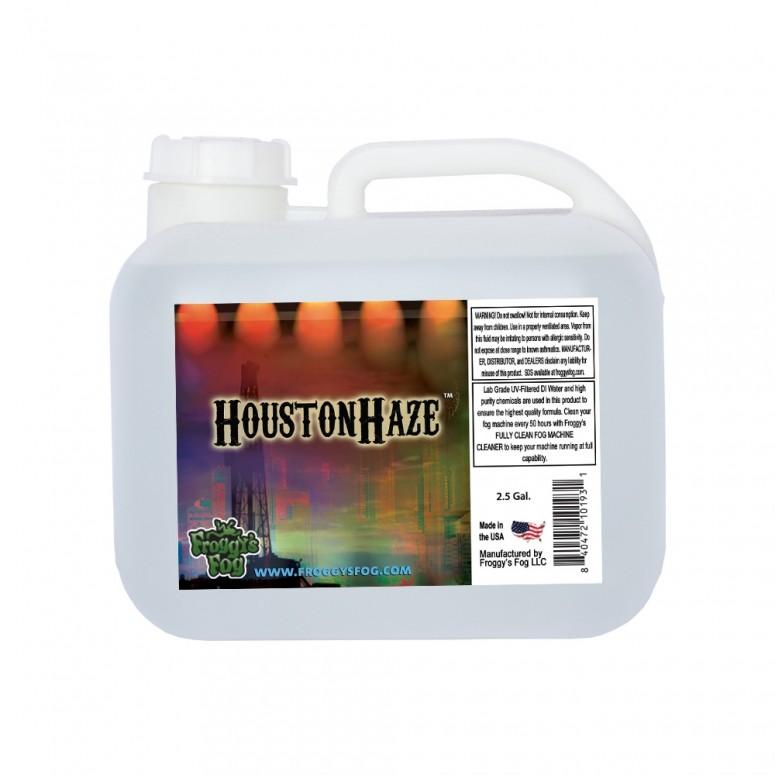 Houston Haze - Oil Based Juice Fluid for Haze Generators - 2.5 Gallon Square