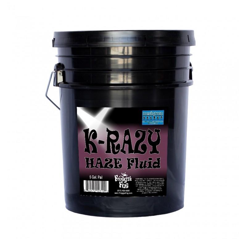 Krazy Haze - Professional Water Based Haze Juice - For Martin K-1 Hazers - 5 Gallon Pail