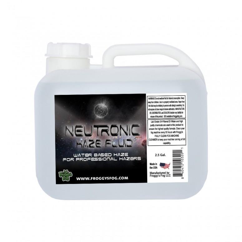 Neutronic Haze Fluid - Specially Formulated Haze Fluid - 2.5 Gallon Square