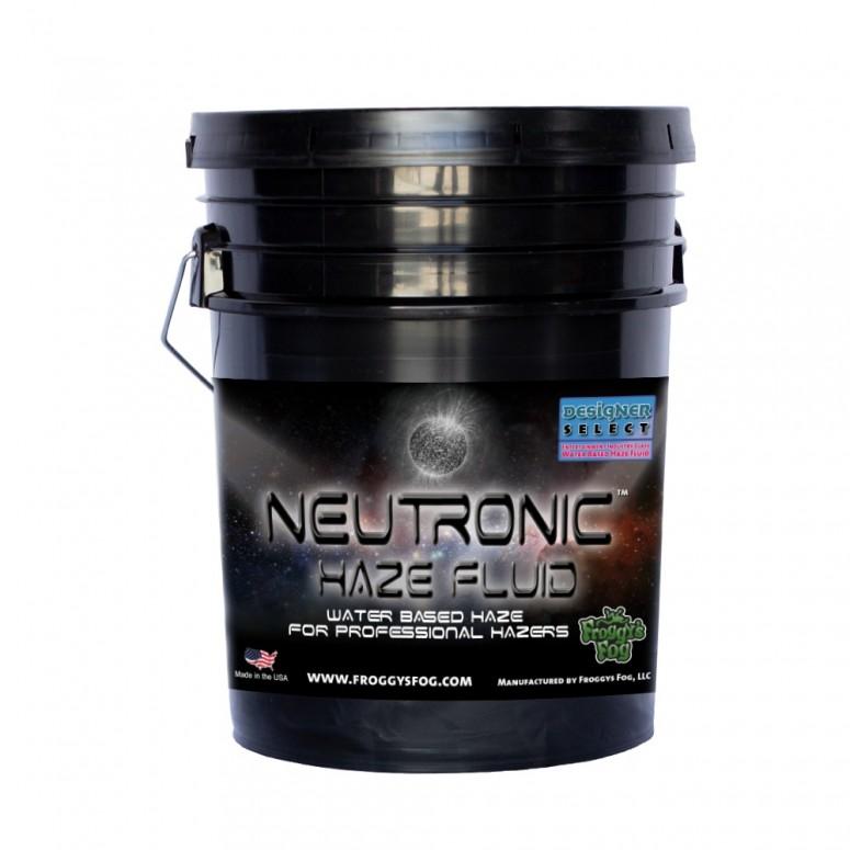 Neutronic Haze Fluid - Specially Formulated Haze Fluid - 5 Gallon Pail / 18.927 L