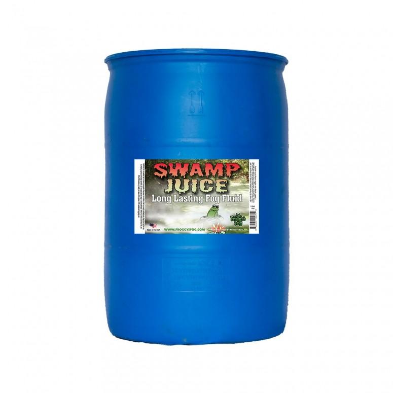 Froggy's Fog - Swamp Juice (Extreme Hang Time Longest Lasting Fog Fluid) - Fog Juice - 55 Gallon Drum