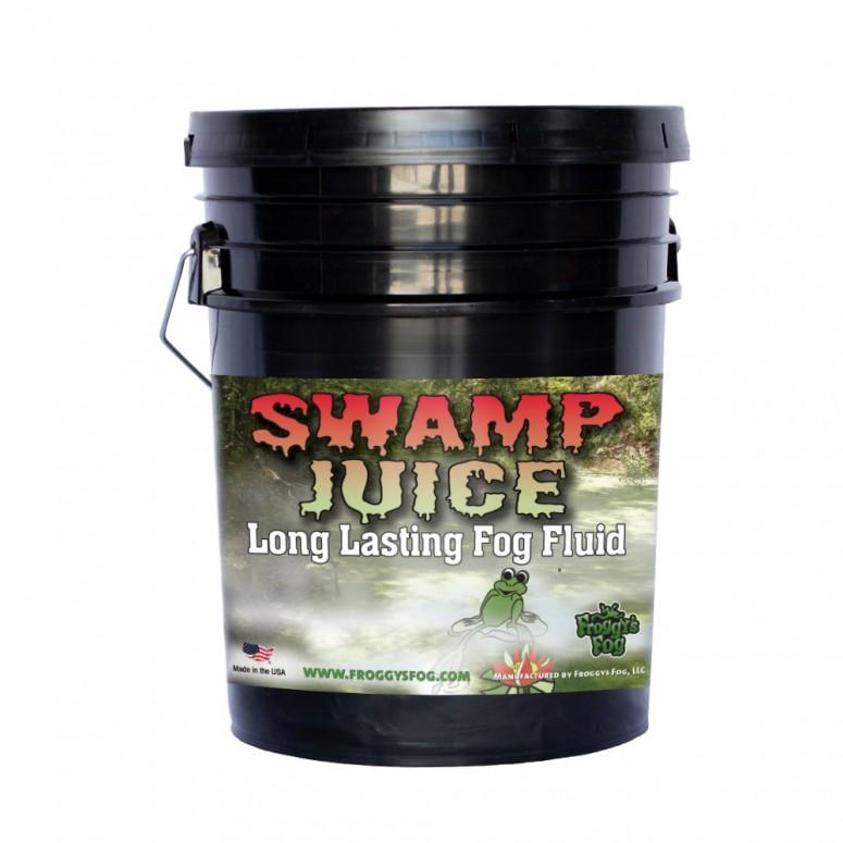 Froggy's Fog - Swamp Juice (Extreme Hang Time Longest Lasting Fog Fluid) - Fog Juice - 5 Gallon Pail