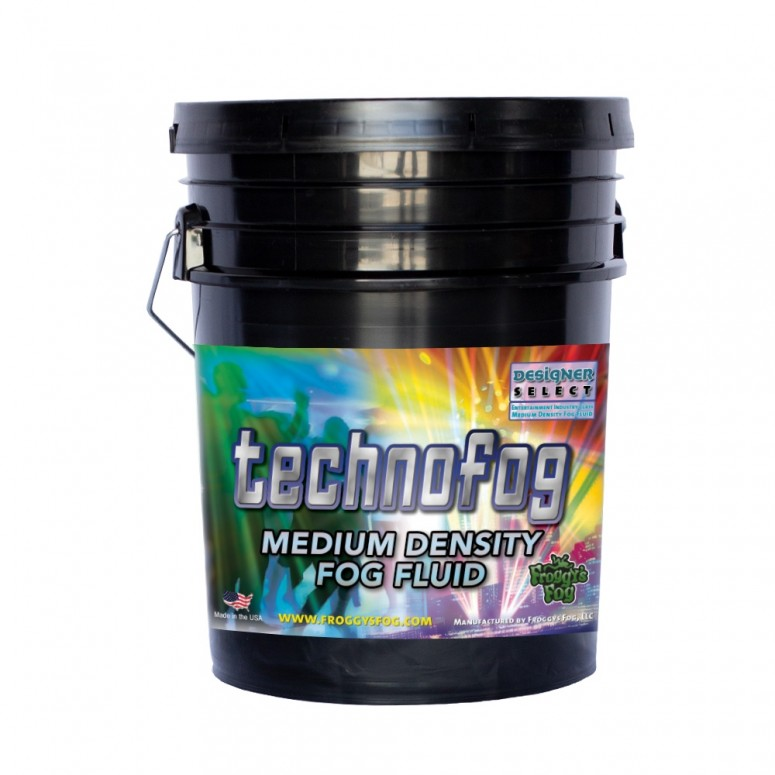 Techno Fog® - DJ and Club Mix - Medium Density Fog Machine Fluid - 5 Gallon Pail Fog Juice