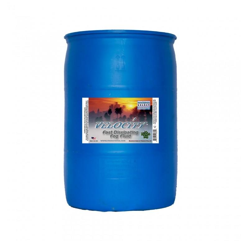 Velocity - Fast Dissipating Fog Machine Fluid - 55 Gallon Drum Fog Juice