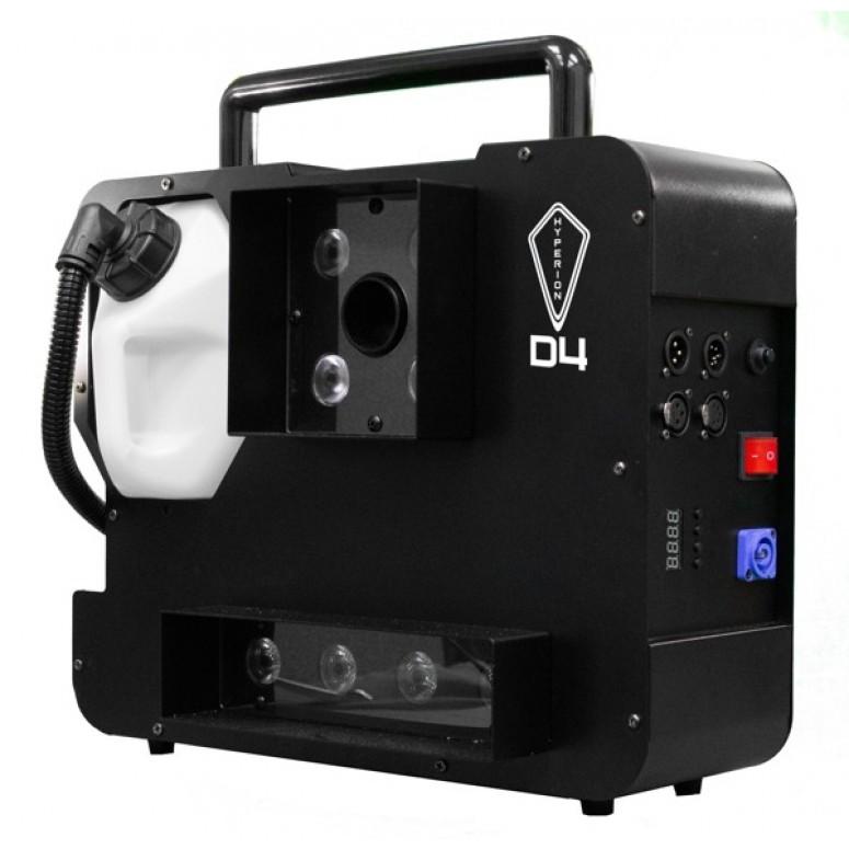 Hyperion D4 ‐ Dual Color ‐ 1500 Watts, 2 Color Smoke ‐ Upshot Fog Machine w/ HEX LEDs