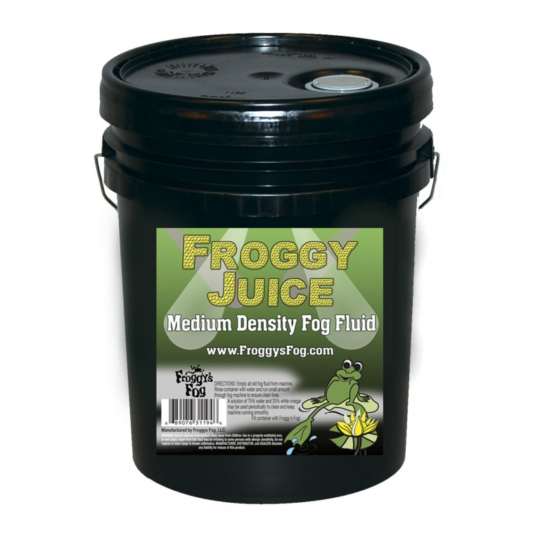 Froggy Juice - DJ and Club Mix - Medium Density Fog Machine Fluid
