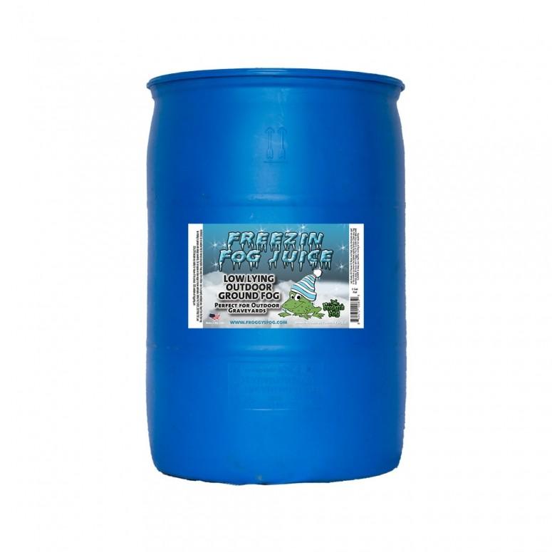 Freezin Fog - Outdoor / Graveyard Low Lying Ground Fog Machine Fluid - Fog Juice - 55 Gallon Drum