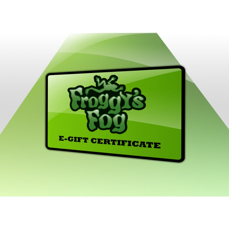 Froggys Fog Gift Card