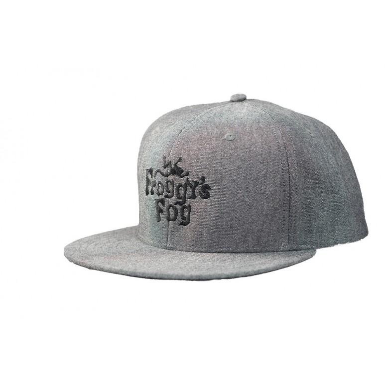Froggy's Fog Snapback Hat - Charcoal Grey