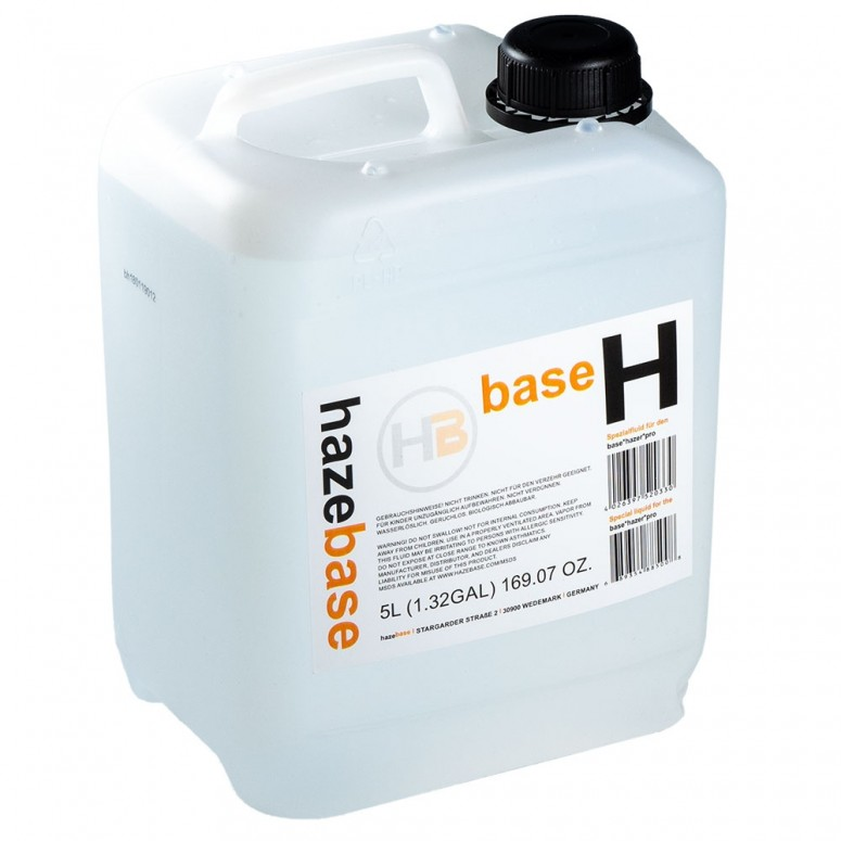 HazeBase - 5L Base Haze Fluid - Fluid Specially Designed for the Base Hazer