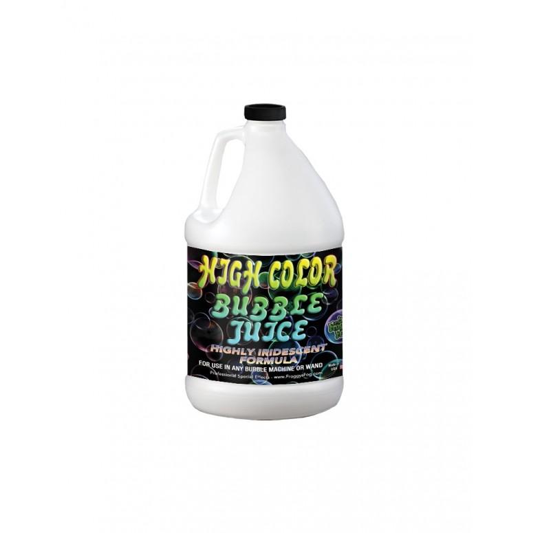 HIGH COLOR Bubble Juice - Strong Long-Lasting Iridescent Brilliant - 1 Gallon