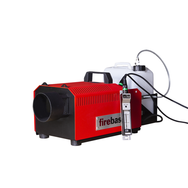 (BACKORDERED) FireBase® SG-1300 Smoke Generator Package w/ Machine, XLR Remote, XLR Cable and 5L Bottle - Assembled