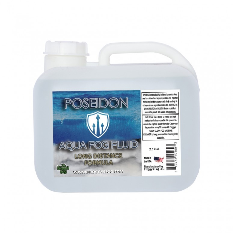 2.5 Gallon Square - Poseidon Aqua Fog - Long Distance Formula