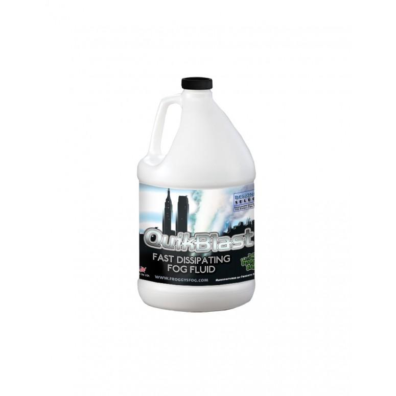 Quick Blast Fog Juice - CO2 Blast Effect Fog Machine Fluid - Best for Chauvet® DJ Geysers - 1 Gallon