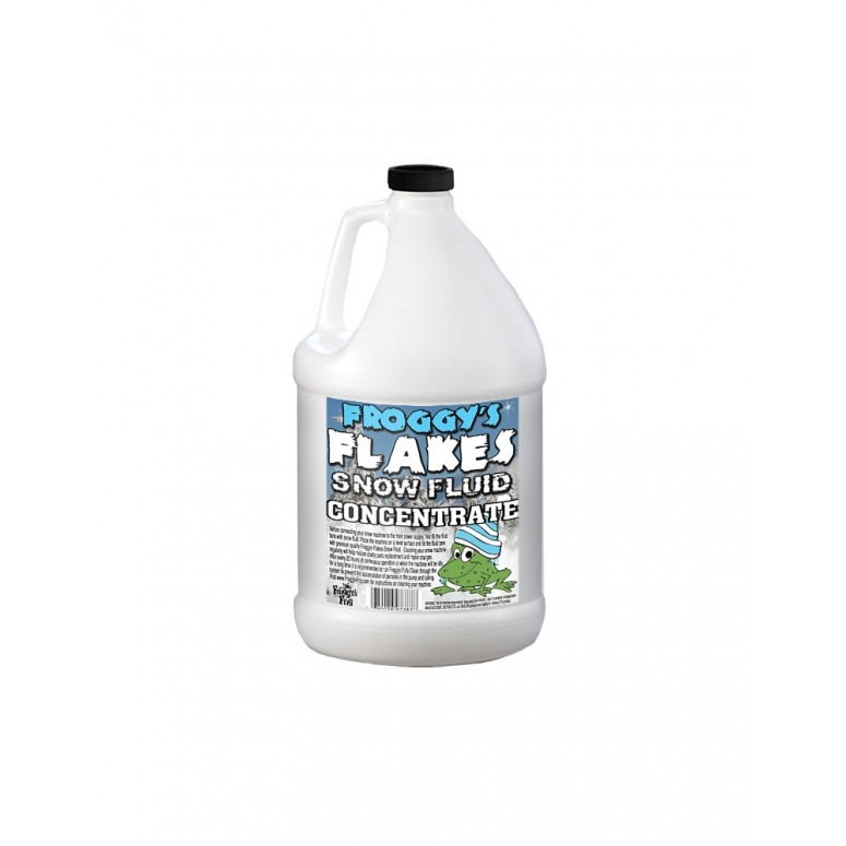 LONG LASTING Snow Juice Concentrate (Makes 16 Gallons) - (50-75 Feet Float / Drop) - 1 Gallon