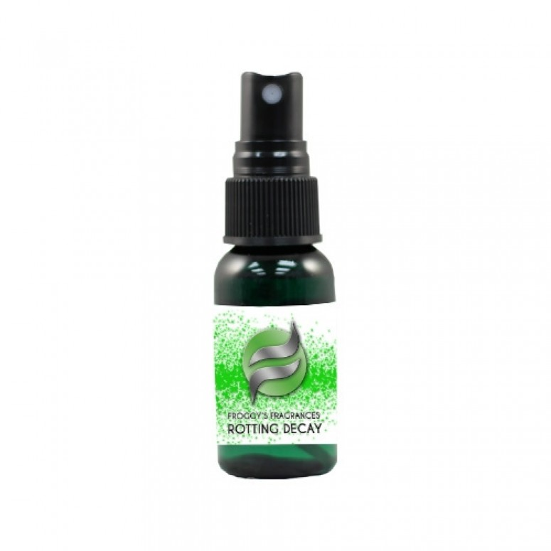 Froggy's Fog- 1oz. ROTTING DECAY - Scented Cologne Spray
