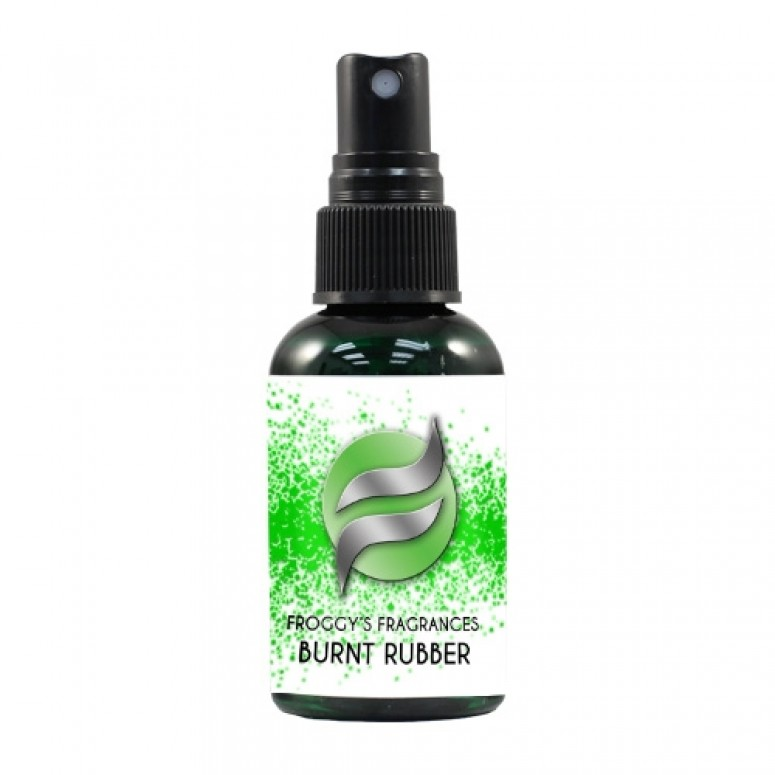 Froggy's Fog- 2oz. BURNT RUBBER - Scented Cologne Spray