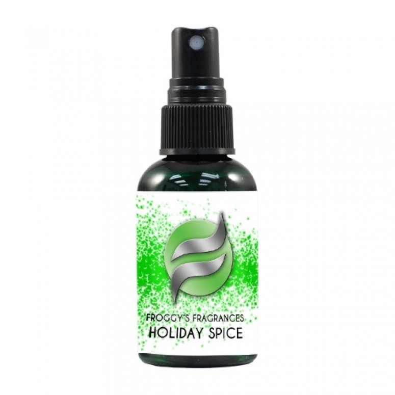 Froggy's Fog- 2oz. HOLIDAY SPICE - Scented Cologne Spray