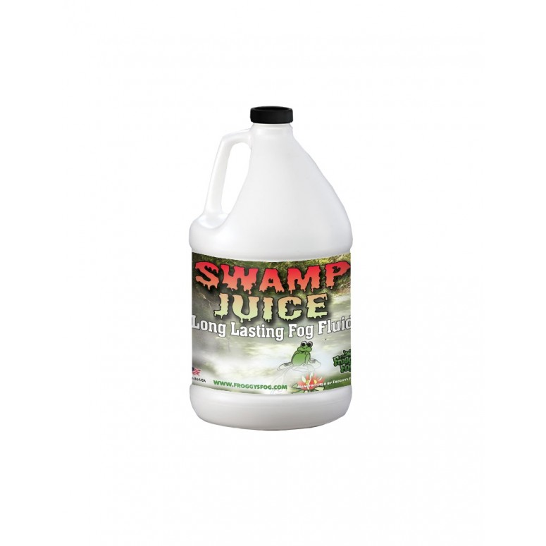 Froggys Fog - Swamp Juice (Extreme Hang Time Longest Lasting Fog Fluid) - Fog Juice - 1 Gallon