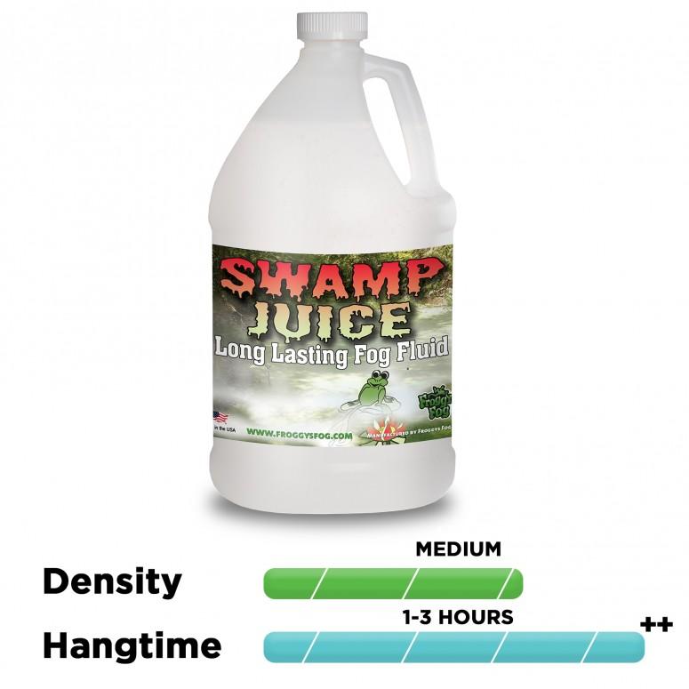 Froggy's Fog - Swamp Juice (Extreme Hang Time Longest Lasting Fog Fluid) - Fog Juice